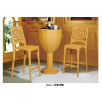 Latest Design Good Quality Rattan Cheap Outdoor Bar Table And Chairs Of Chary55