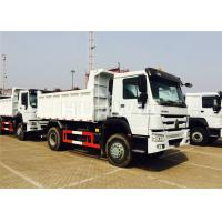 China LHD/RHD HOWO Mining Dump Truck 4X2 290hp Durable Structure 7m Length wholesale