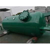Quality High Pressure Gas Storage Tanks For Emergency Oxygen Horizontal Low Alloy Steel for sale