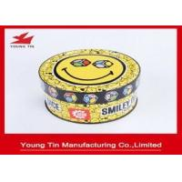 Buy cheap Games Children Gifts Packaging Tin Box CMYK Printing Shinny Finish Outside from wholesalers
