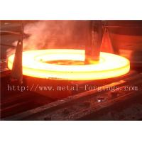 China Industrial ST52 ST60-2 Carbon Steel Flange / Large Forged Rings wholesale