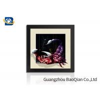 China PVC / MDP Frame 3D 5D Pictures Different Animal Patterns Wall Decoration wholesale