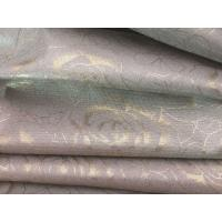 China single side 100%silver fiber flower printed anti radiation fabric wholesale