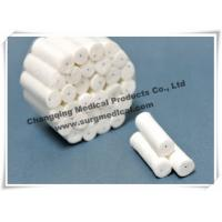 China Flexibility Surgical Cotton Rolls , Comfortable Dental Disposable Products wholesale