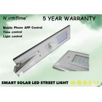China 30W LiFePO4 LED Solar Powered Street Lights With Outdoor Cctv Camera In 5 Years Warranty wholesale