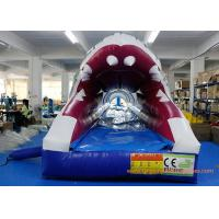 China PVC Tarpaulin Shark Commercial Or Personal Large Inflatable Slide ROSH wholesale
