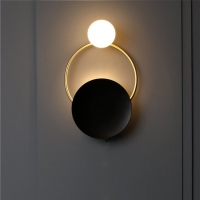 China LED Wall bed lamp Designer Creative Spherical Metal Wall Lights Fixures (WH-OR-14) on sale