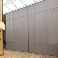China Soundproof Office Floor to Ceiling Partition Wall With Movable Track Aluminium Profile wholesale