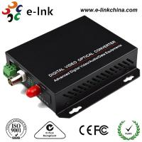 China 1-ch video, 20km, Single Mode Fiber CCTV Fiber Optic Converter wholesale