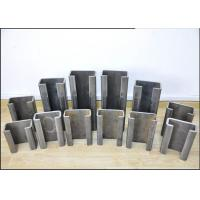 China 3 Inch Structural Steel C Channel Section Low Carbon Steel Material 1-4 Mm Thickness wholesale