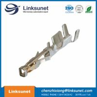China MOLEX 43031 - 0001 , 20 - 24 AWG Male Crimp Terminal With Tin Plated Phosphor Bronze Contact wholesale