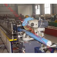 China Lock Seam Roll Forming Machine Color Steel Coils For Rainwater Downpipe / Rain Gutter wholesale
