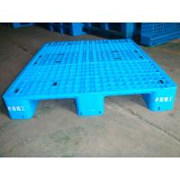 China Euro standard Single Tray plastic pallet 1200*1000*150mm Plastic Pallet with Iron Bars wholesale
