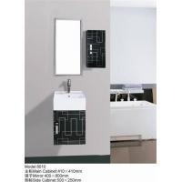 China Stainless Steel Bathroom Vanity Cabinets Furniture 8010 wholesale