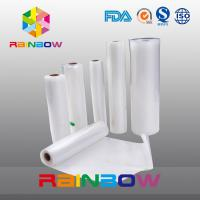 "China 8""X50' PA/PE Material Vacuum texturesealer saver rolls with Smooth side and Channel/embossed Side wholesale"