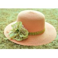 China ladies fashion straw hat lady bucket paper hat beach weave straw hat ladies woven sun hat wholesale