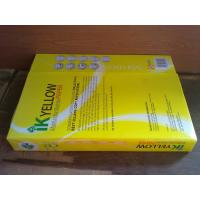 China IK YELLOW A4 PAPER 80GSM 450 SHEET/REAM.10 REAMS/BOX $1.00USD on sale