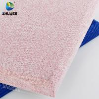 China Multi-color Optional Polyester Fabric Sound Proof Isolation Absorption Panels wholesale