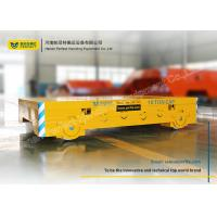 China CNC Cutting Flatbed Rail Transfer Cart Post Weld Treatment For Steel Carriage wholesale
