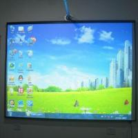 China Hi-touch 80-inch Optical Imaging CCD Finger Touch Electronic Whiteboard wholesale