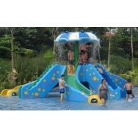 China Interactive Kids and Adult Fiberglass Slides Swimming Pool Play Equipment on sale