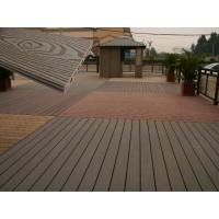 China Solid Wood Plastic Decking Eco Friendly UV Proof WPC Composite Decking wholesale