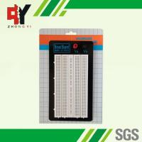 China ABS Plastic White Solder Breadboard 1380 Tie Points Without Color Printed wholesale