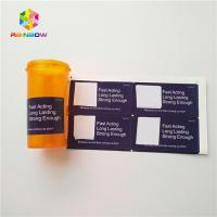 China Dropper Shrink Sleeve Labels  Pharmaceutical Stickers Vial Glass 30ml Bottle For Steroid wholesale