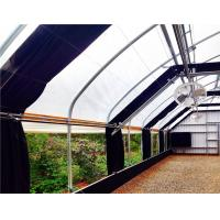 China Commercial Light Deprivation Greenhouse Single Span With Air Circulation Fans on sale