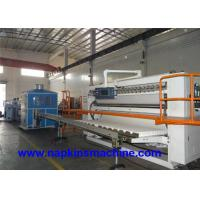 China Full Auto Box Drawing Facial Tissue Production Line With Paper Cutting Machine wholesale