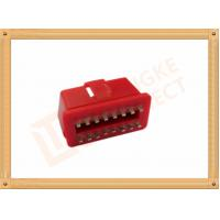 China RED 16 Pin Obd Connector Replacement Obd Ii Connector CK-SOM002B wholesale