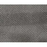 China EMF protection x-static 100%silver fiber diamond lattice conductive fabric wholesale
