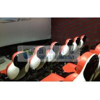 China Realistic 6D Cinema System With Seperate Platform And Cinema Special Effects wholesale