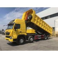 China Howo A7 12 Wheeler Dump Truck Double Bunker Euro 4 420hp High Roof Cab on sale