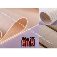 China Polyphenylene Sulfide Industrial Filter Cloth , Dust Filter Fabric For Waste Incineration on sale