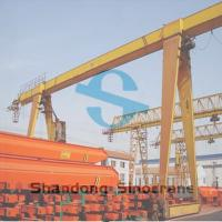 China MH Single Girder Gantry Crane Equipped with Electric Hoist for Lifting Materials wholesale