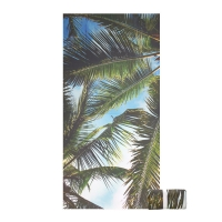 China Rectangle Adults 140GSM Microfiber Travel Beach Towel on sale
