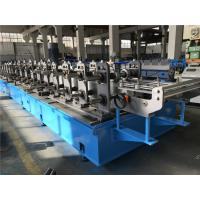 China Top Hat Automatic Roll Forming Machine 30kw High Speed 50m / min wholesale