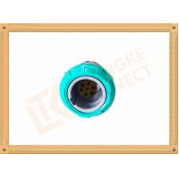 China 7 Pin Circular Plastic Push Pull Connector Adapter For Breathing Machine wholesale