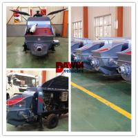 Quality 30m3 40m3/hr Small trailer hydraulic concrete pump with diesel or electric power for sale