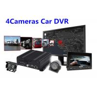 China IOS Android Real Time Monitoring 4 Camera Car SD Card Digital Video Recorder wholesale
