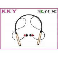 China Neckband Bluetooth Headset 4.2 , Behind The Neck Headphones Noise Reduction wholesale