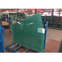 China Flat / Curved Decorative Toughened Tempered Glass for Building , Furniture , Shower Door wholesale
