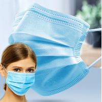 China OEM / ODM Non Woven Disposable Mask 17.5*9.5cm Size With Ear Elastic Loop wholesale