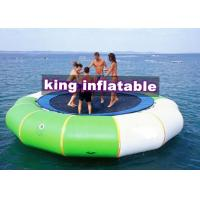 China 0.9mm PVC Tarpaulin Inflatable 5mD Aquatic Water Toy / Trampoline For Water Park wholesale