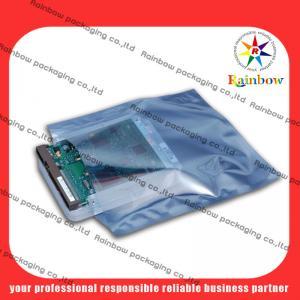 Quality PET / PET / PE Firm Lamination Anti Static Transparent Aluminum Bag With Ziplock for sale