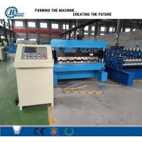 Buy cheap Galvanized Steel Trapezoidal Roofing Roll Forming Machine With Hydraulic from wholesalers