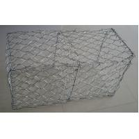 China 60×80 Mm Hot Dipped Galvanized Gabion Baskets / Box For Retaining Wall wholesale