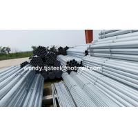 China Q195 HOT DIP GALVANIZED STEEL PIPE FOR WATER/OIL/GAS TRANSPORTATION wholesale