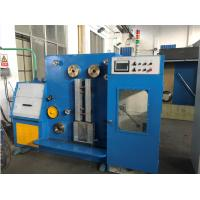 China 15KW Yaskawa Inverter Fine Wire Drawing And Annealing Machine For Single Bare Copper Wire wholesale